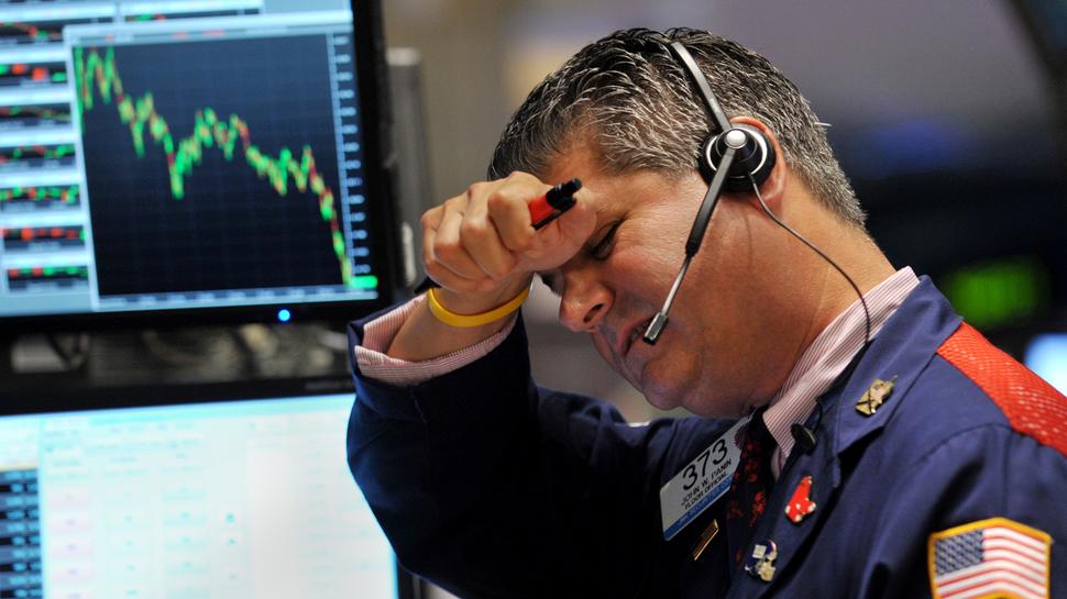 Wall Street podczas finansowego kryzysu. (2008)