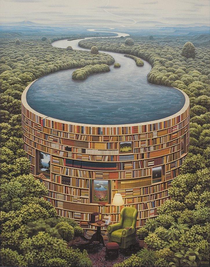 Bibliotama, 2006 / Jacek Yerka
