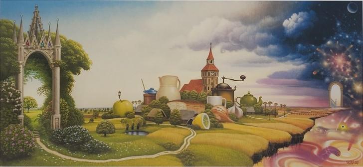 Droga, 2003 / Jacek Yerka