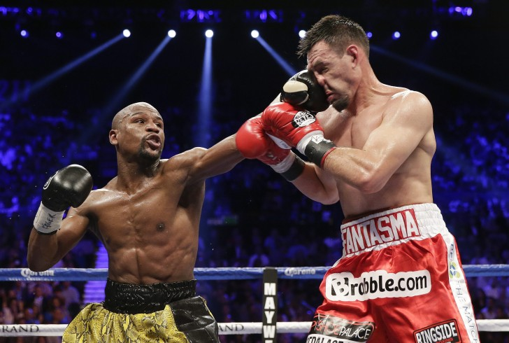 Floyd Mayweather Jr. vs Robert Guerrero