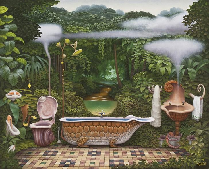 Kieszonkowa Dżungla-łazienka, 2013 / Jacek Yerka