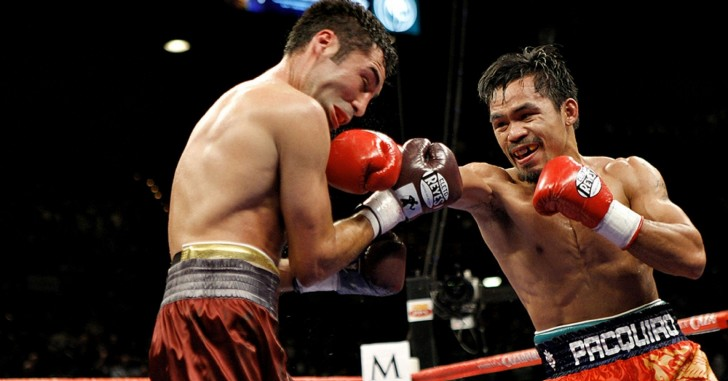 Manny Pacquiao vs Oscar de la Hoya