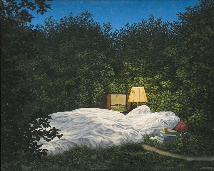 Sen nocy letniej, 1986 / Jacek Yerka