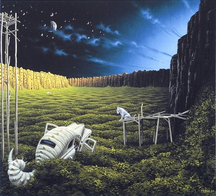 Sonet, 1997 / Jacek Yerka