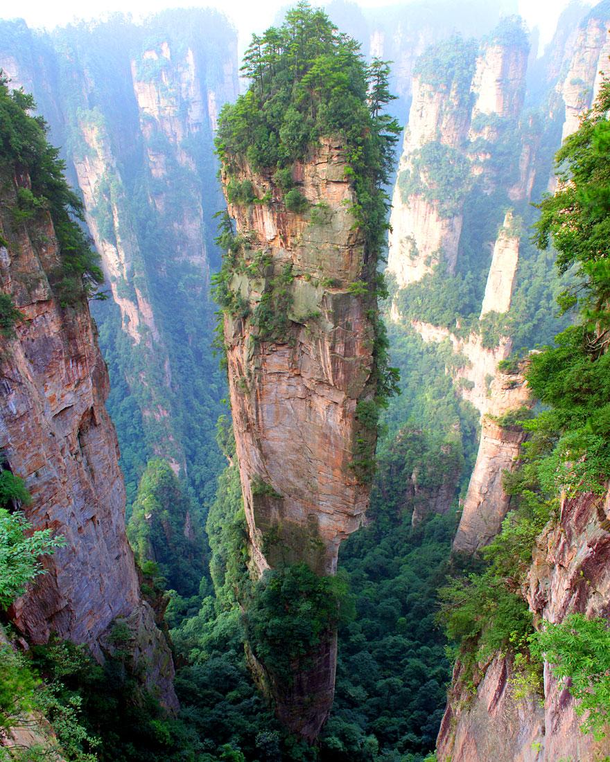 Góry Tianzi (Chiny)