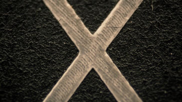 """Klawisz """"X"""" z klawiatury / foto: Pyanek"""