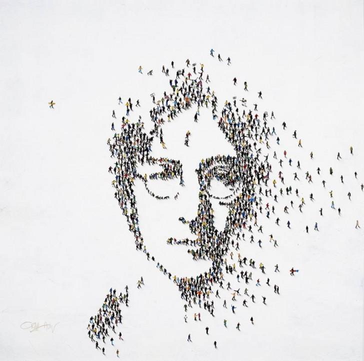 "John Lennon, ""Peace"""