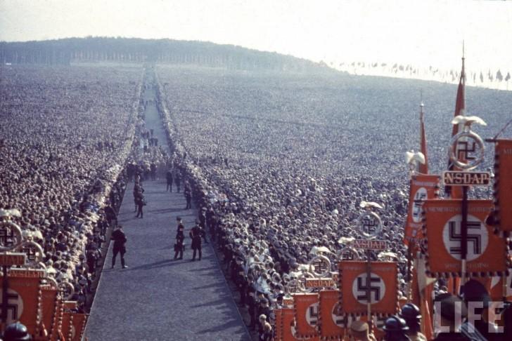 Zgromadzenie członków partii nazistowskiej - Reichserntedankfest, 1937