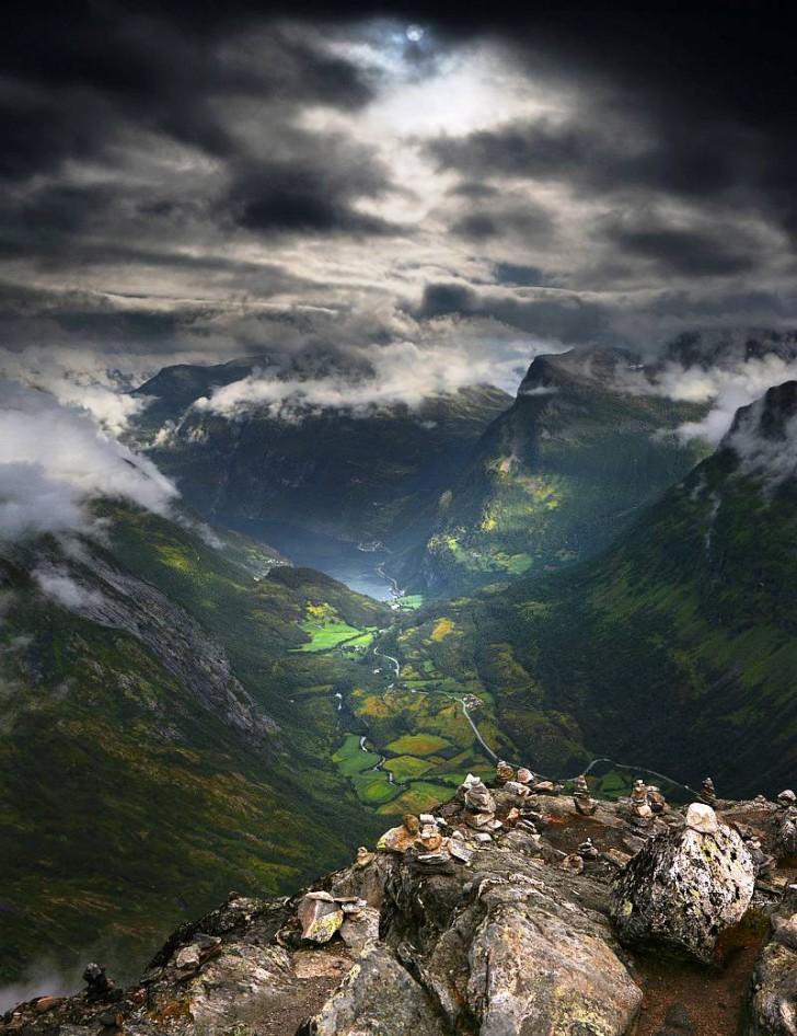 Dalsnibba, Norwegia