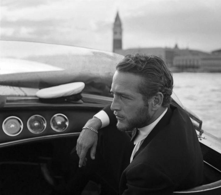 Paul Newman w Wenecji (1963)