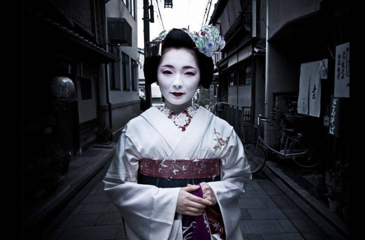 Toshimana, młoda gejsza z Kyoto