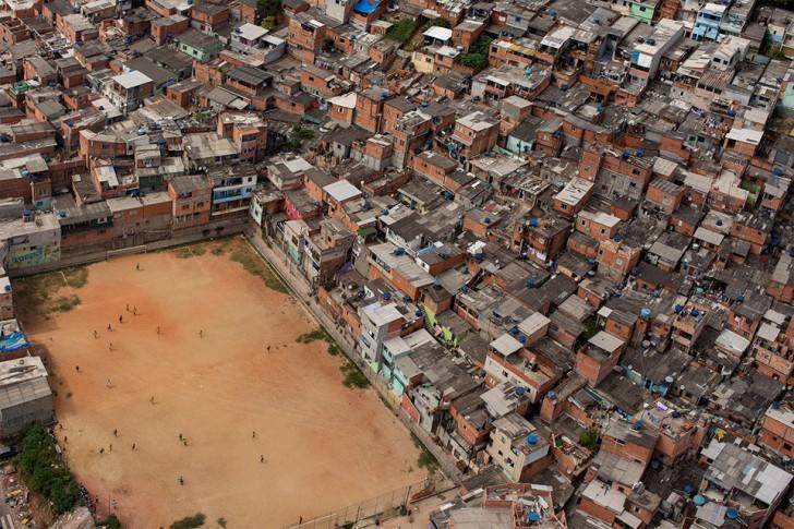 Boisko do piłki nożnej, Brazylia