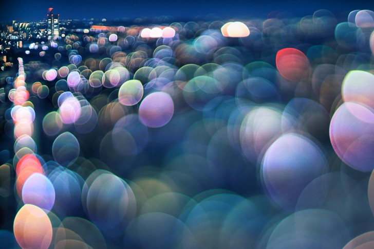 Night View of Setagaya - Takashi Kitajima