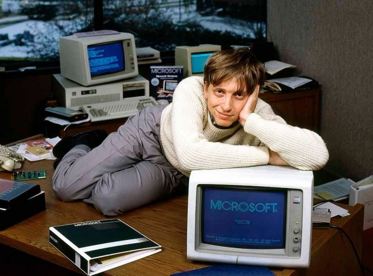 Bill Gates - geniusz czy szczęściarz?