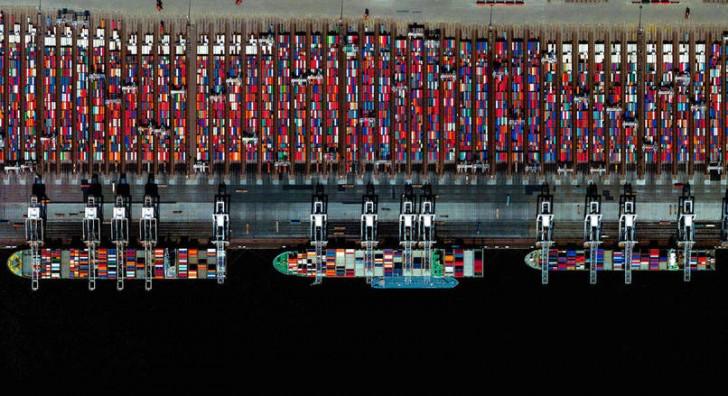 Port w Rotterdamie, Holandia