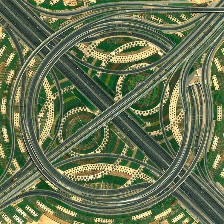 Węzeł autostradowy, Dubaj, Zjednoczone Emiraty Arabskie