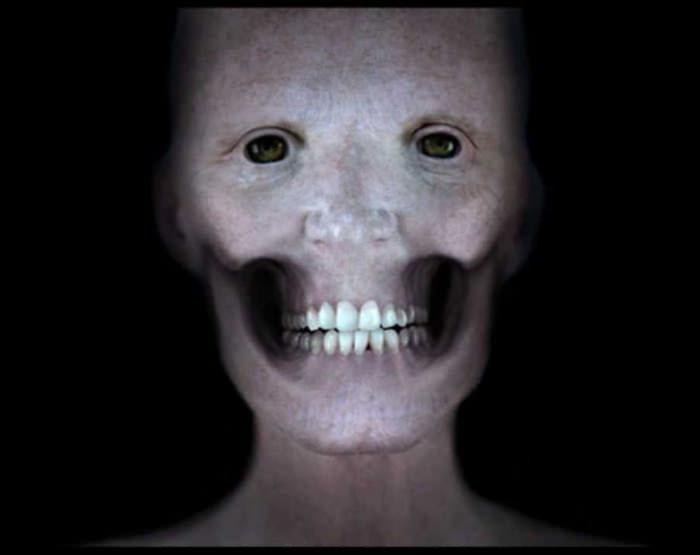 Tak wyglądałaby twarz człowieka pozbawiona mięśni
