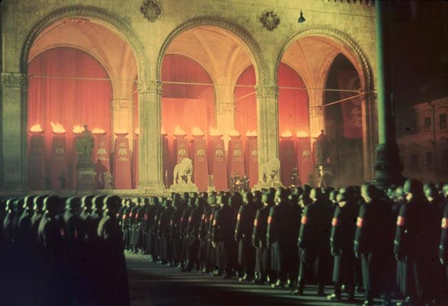 Żołnierze SS składają przysięgę wierności, Monachium, 1938