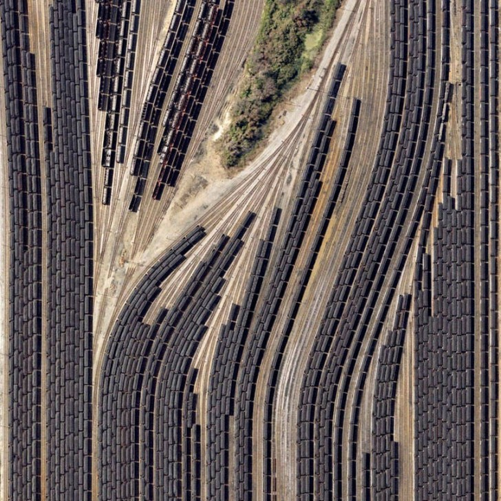Terminal kolejowy w Norfolk, Virginia, USA