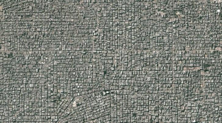 Delhi z lotu ptaka