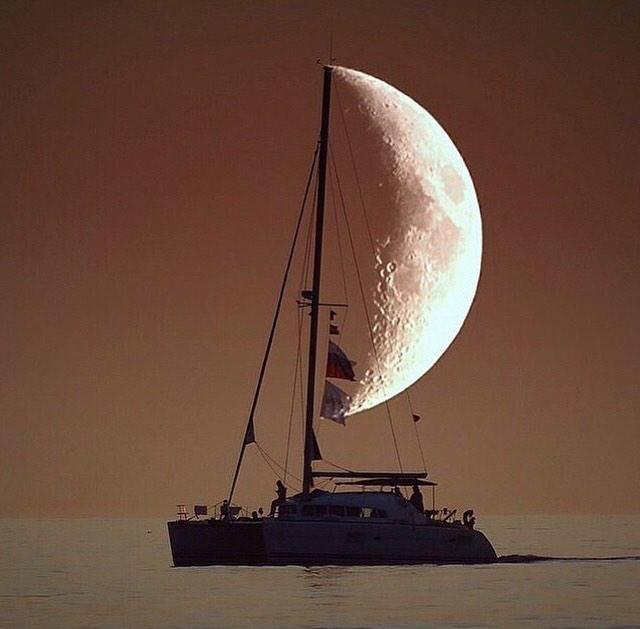 Księżycowy żagiel