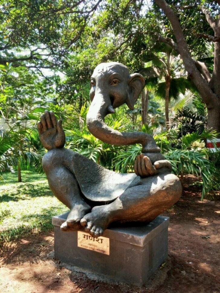 Posąg Ganeśy
