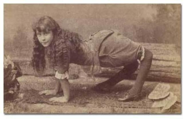 Seria dziwacznych i jednocześnie przerażających zdjęć z przeszłości