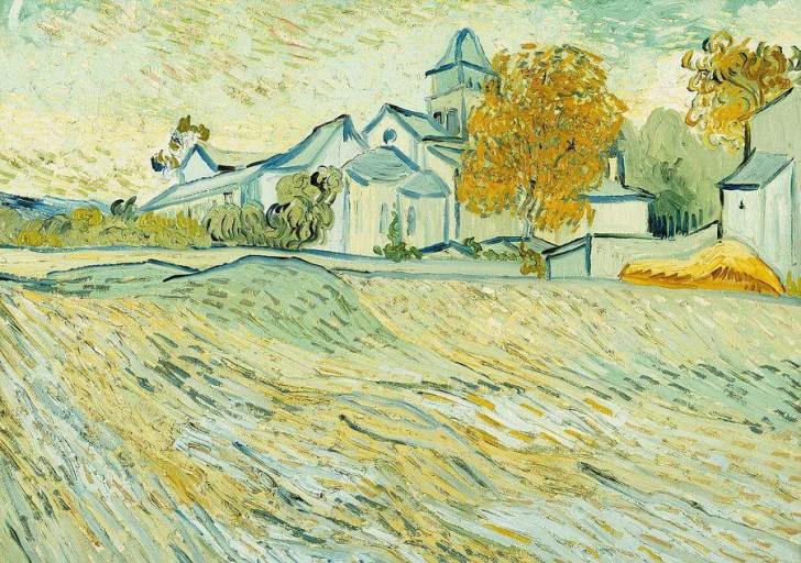 fot. Widok kaplicy w przytułku św. Pawła, Van Gogh, 1889