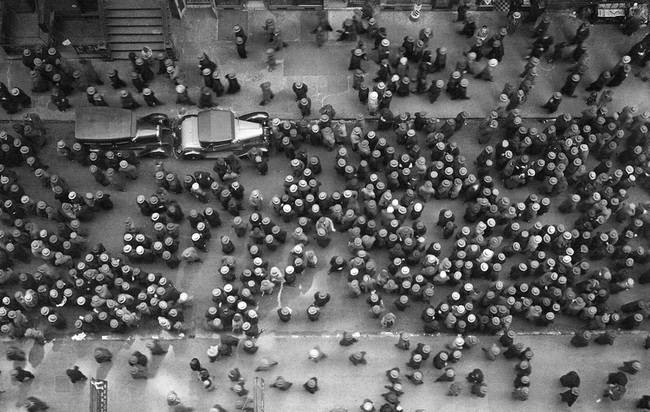 Kapelusze w Nowym Jorku, 1939.