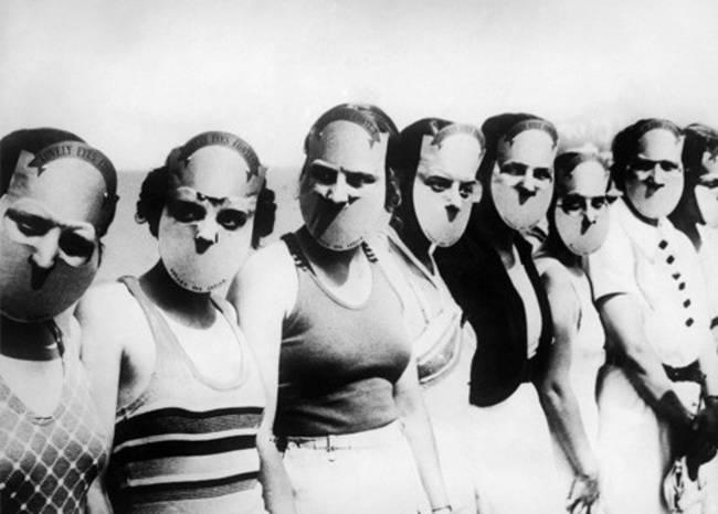 Wybory Miss Najpiękniejszych Oczu,   Floryda, 1930.