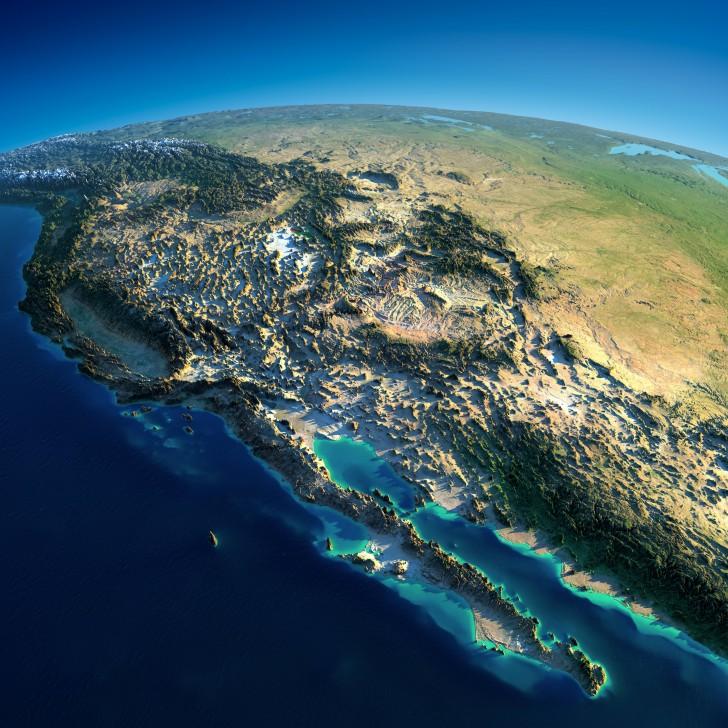 Zachodnie wybrzeże Ameryki Północnej