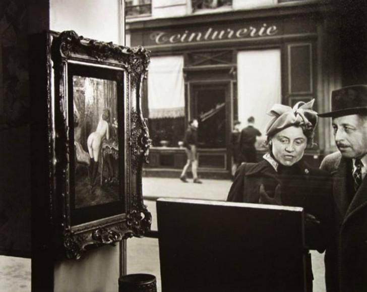 Mężczyźni się nie zmieniają (Un Regard Oblique, fot. Robert Doisneau, 1948)