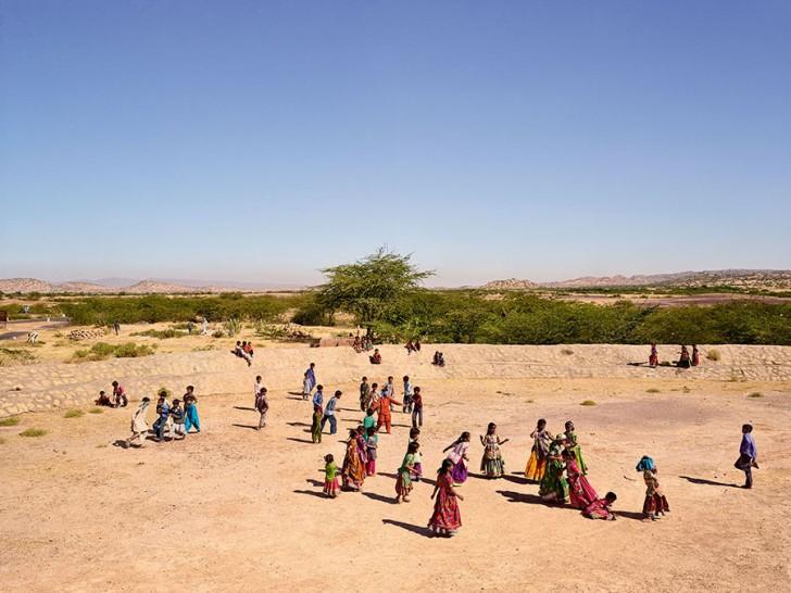 Gram Panchayat School, Ludiya, Kutch, Gujarat, India