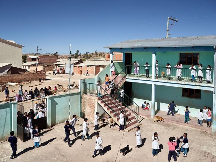 Thako Pampa School, Sucre, Bolivia