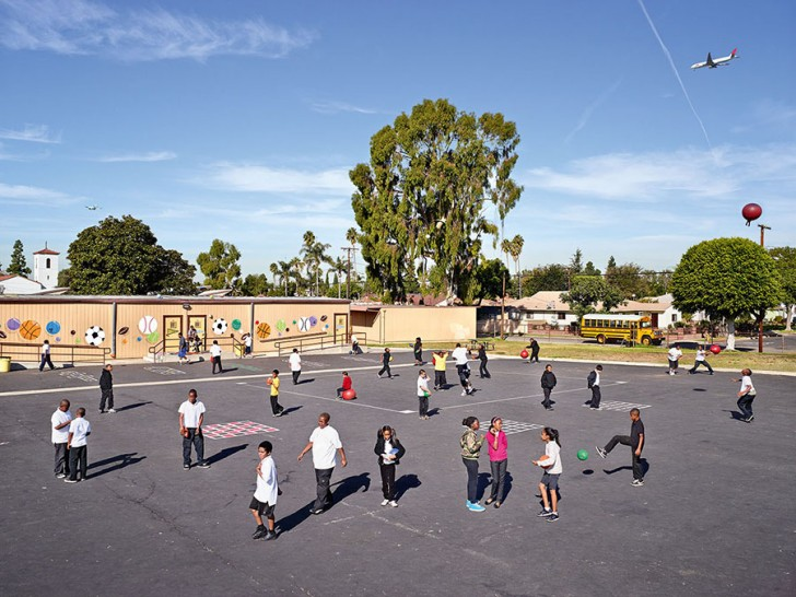 Warren Lane Elementary, Inglewood, California
