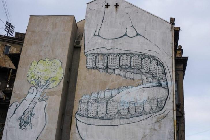 Streetart w Belgradzie