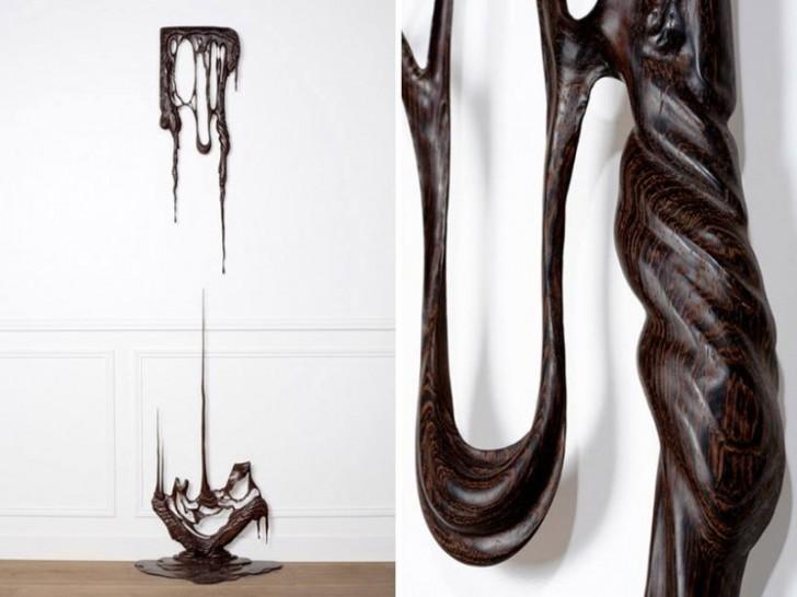 Ta rzeźba jest z drewna