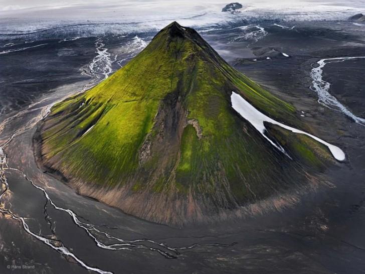 Wulkan Maelifell na Islandii