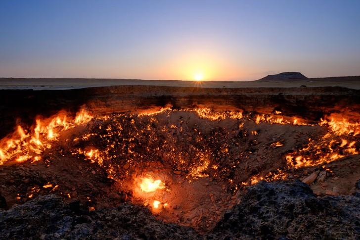 Bramy Piekła, Derweze, Turkmenistan