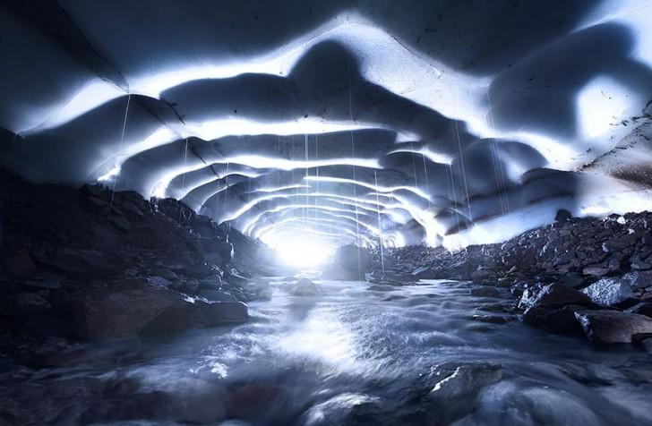 Jaskinia Lodowa, Oregon, USA