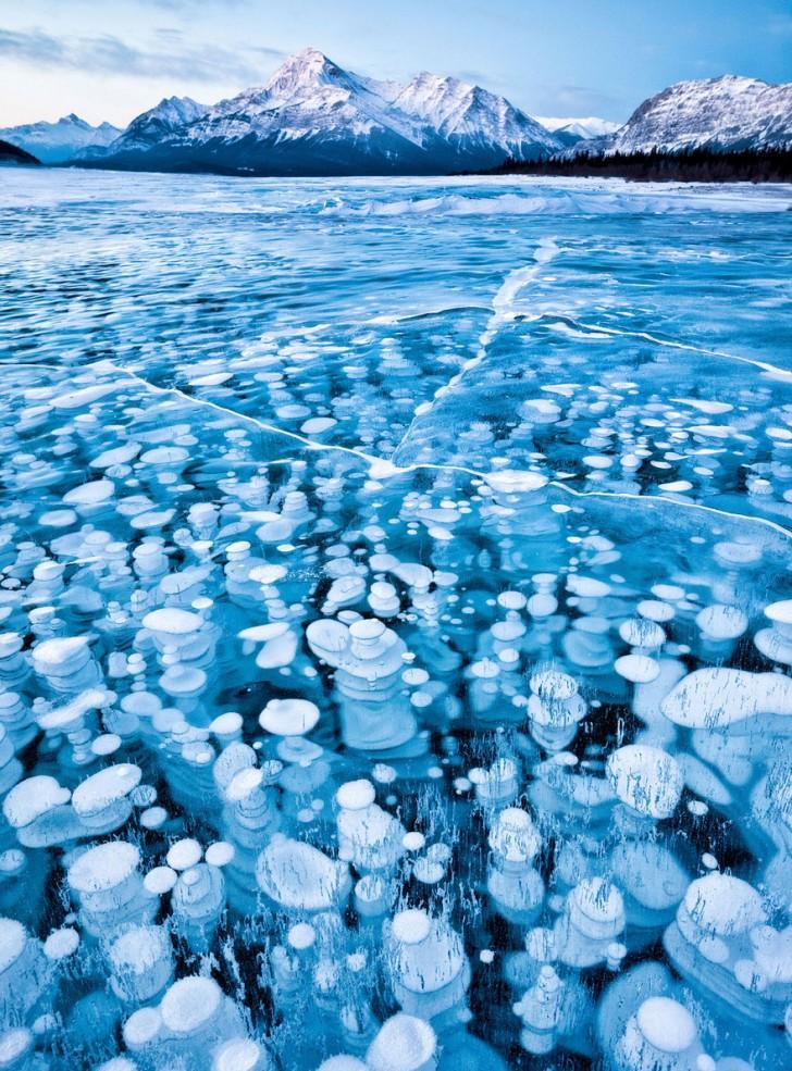 Jezioro Abrahama, Kanada