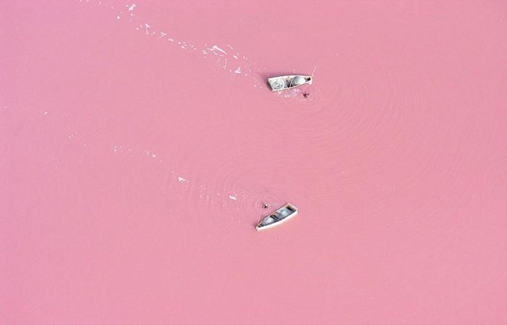 Jezioro Retba, Senegal