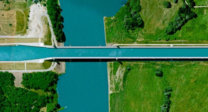 Magdeburski most wodny, Niemcy