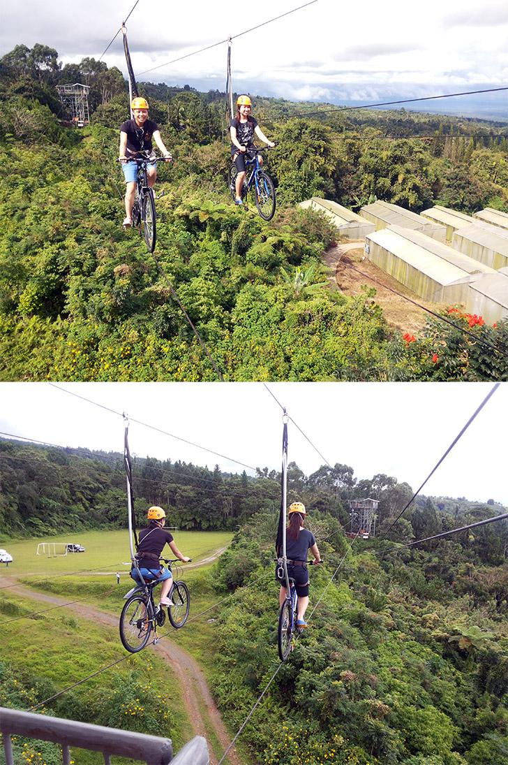 Prawdziwe doświadczenie Skycycle w Eden Nature Park & Resort (Davao City, Filipiny) - już za 200 pesos (ok. 50zł)!
