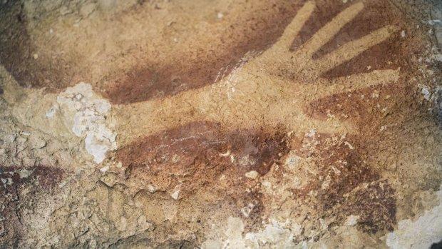 z16775149Q,Malowidla-z-indonezyjskiej-jaskini