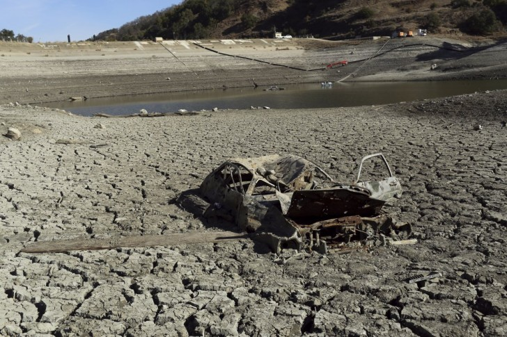 californias-drought-just-kept-getting-worse-the-remains-of-an-automobile-are-pictured-on-the-bottom-of-the-almaden-reservoir-near-san-jose-california-january-21-2014