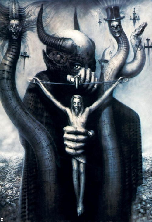 giger-crucifixion