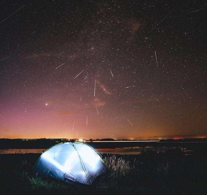 Niebo nad Danią (Ruslan Merzlyakov/Spaceweather.com)