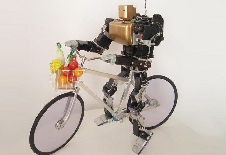 robot-jezdzacy-na-rowerze