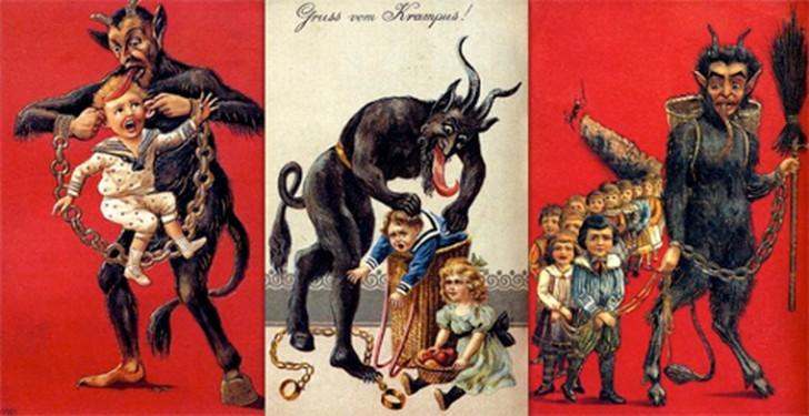 """Krampus - """"Święty Mikołaj"""", którego wolelibyście nie spotkać"""